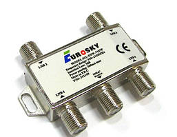 Коммутатор DiSEqC 2.0 4x1 Eurosky DSW-7107P R150759 (SKU777)