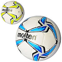 Мяч футбольный MS 2228 (30шт) размер5, PU, 370-390г, 2цвет, в кульке