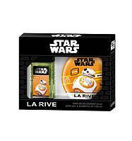 Детский подарочный набор для мальчиков La Rive Star Wars Droid парфюмированная вода 50мл + гель для душа 250мл