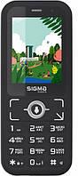 Телефон кнопочный сигма с хорошей батареей и камерой на 2 sim Sigma Comfort S3500 Skai Black WiFi