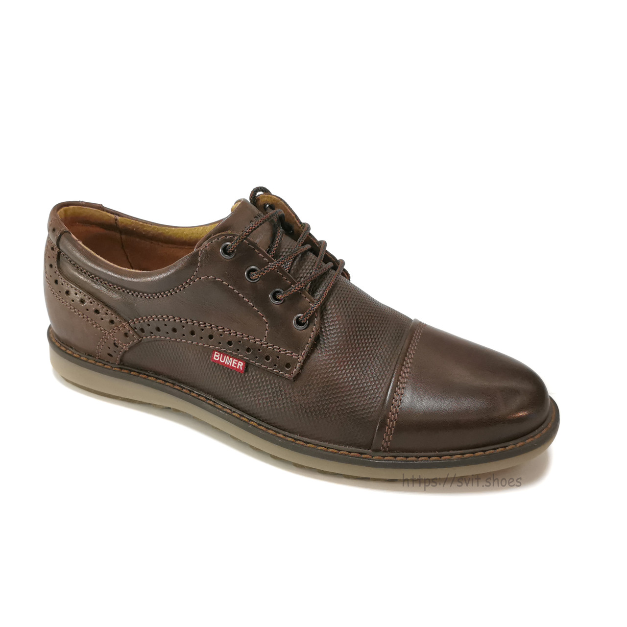 Туфлі чоловічі Bumer k11 шкіра