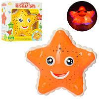 """Игра для детей """"Морская звезда"""",размер 21 см,модель 9001,музыка, свет,в наличии 2 цвета, в коробке.."""
