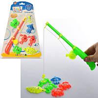 Рыбалка для детей модельYLS-C2  магнитная,с удочкой 22 см,морские обитатели 6 шт, в наличии 2 цвета, на листе.