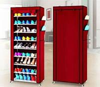 Стелаж для хранеия обуви Shoe Cabinet Коричневый, фото 1