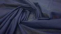 Ткань батист (подкладка) темно-синий однотонный, фото 1