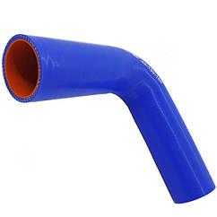 Патрубок силиконовый (150 мм х 150 мм) (90` - угол) (d=40 толщ = 4 мм)