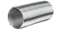 Гнучкий повітропровід d 110 мм 0,5 м з нержавійки