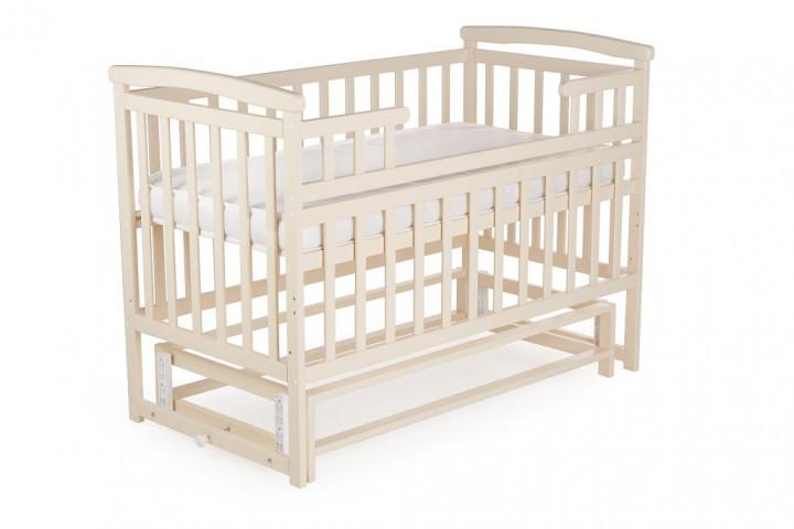 Детская кроватка-трансформер DeSon Ваниль Лодочка без ящика
