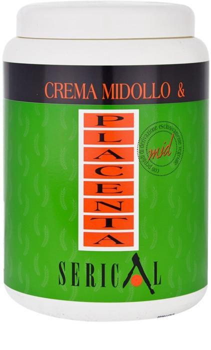 Крем-маска для волос с вытяжкой бамбука и плаценты пшеницы Pettenon Serical Crema Midollo & Placenta