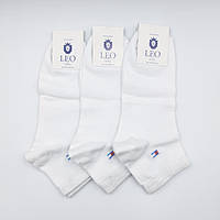Носки мужские спортивные Лео Томми ОПТ белые