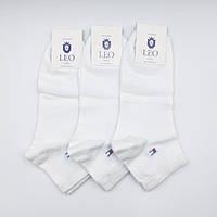 Шкарпетки чоловічі спортивні Лео Томмі ОПТ білі, фото 1