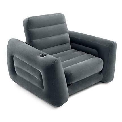 Надувное кресло-трансформер Intex 68565 Размер 224*117*66см, фото 2