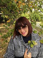 Женские солнцезащитные очки  крупные линзы серый переход Bvlgаri 20279 (SKU555)