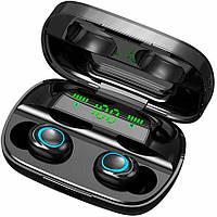 Беспроводные наушники S11 TWS bluetooth V5.0 9D Stereo Защита IPX7 Кейс - Powerbank Пыле и Влагозащита