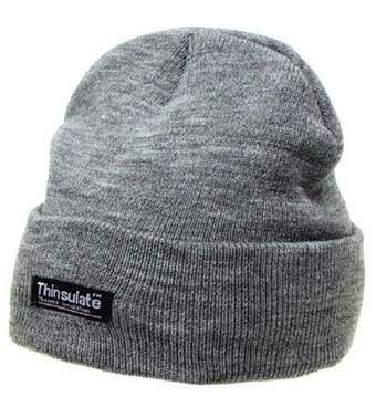 Тёплая акриловая шапка Thinsulate MFH Grey 10983M
