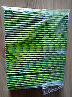 Трубочка бумажная 6*195 мм тростник 250шт/уп