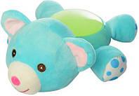 Музыкальный ночник-игрушка с проектором Медвежонок Limo Toy, голубой