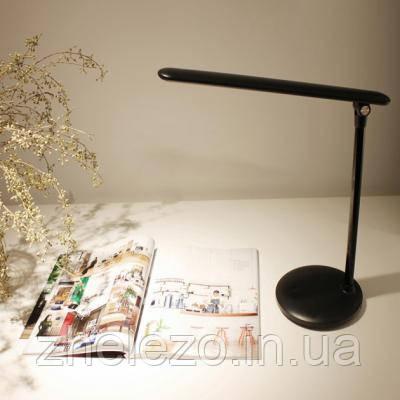 Офисная/рабочая настольная лампа ColorWay LED 4W 2800-6000K Black аккумулятор (CW-DL02B-B), фото 2