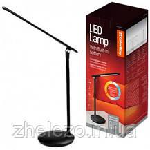 Офисная/рабочая настольная лампа ColorWay LED 4W 2800-6000K Black аккумулятор (CW-DL02B-B), фото 3