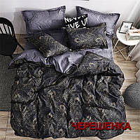 """Полуторный набор постельного белья 150*220 из Бязи """"Gold"""" №151310AB Черешенка™"""