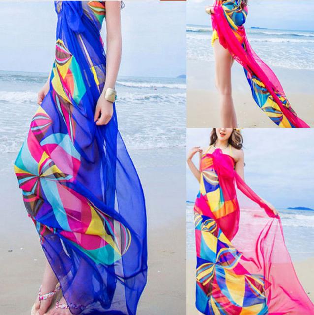 Парео, пляжное платье! Пять цветов.