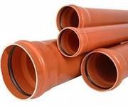 Труба пвх для наружной канализации 160*3 метра sn4 мпласт