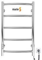 Полотенцесушитель електричний MARIO Класик HP-I 650 x 430 TR таймер-регулятор, фото 3