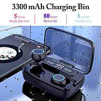 M11 TWS Мини-невидимые bluetooth V5.0 Наушники Hi-Fi Stereo Защита IPX7 Игровые наушники с аккумулятором 3300