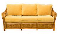 Диван из натурального ротанга Askania Premium, мебель из натурального ротанга, ротанговая мебель