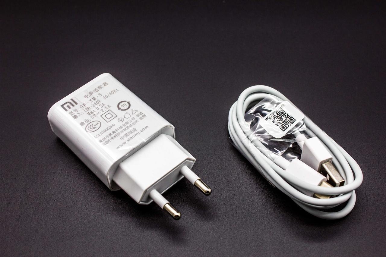 Сетевое зарядное устройство  Mi Travel  Charger с кабелем Type-C 2A