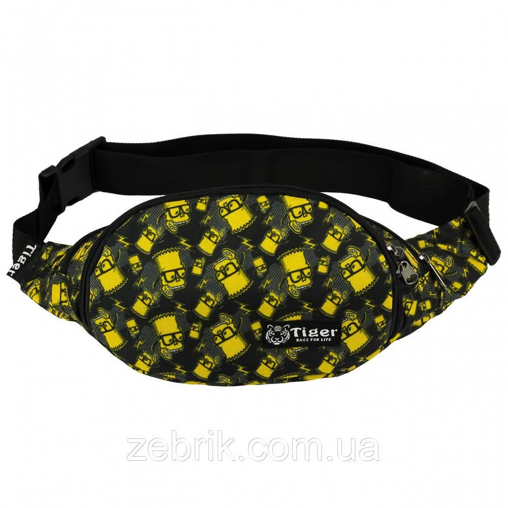 Бананка, сумка на пояс, сумка через плечо TIGER БАРТ