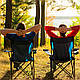 """Складной стул для пикника и рыбалки """"Паук"""" с подстаканником, фото 4"""