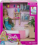 Ігровий набір Барбі Ванна кімната, фото 6
