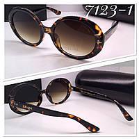 Женские солнцезащитные очки стильная классика овалы лео (SKU555-1)