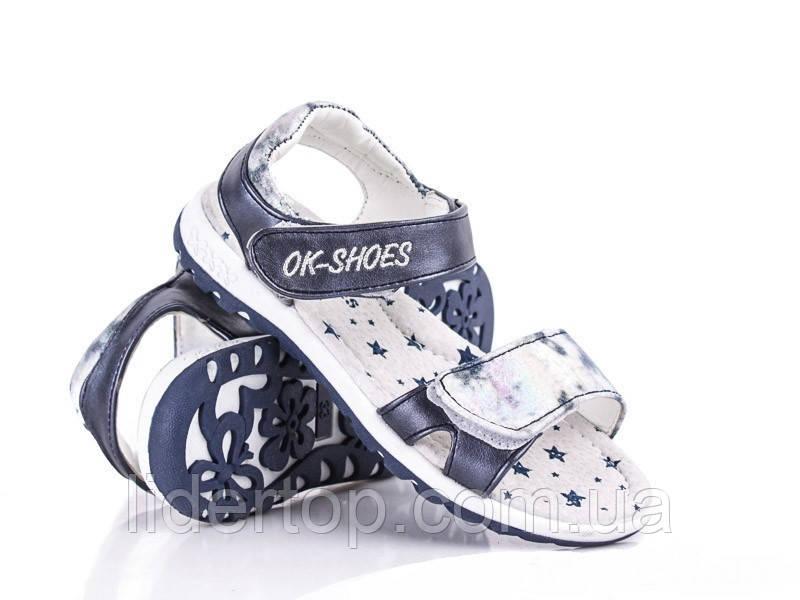 Босоножки Сандалии Девочка ТМ Ok-Shoes  30, 31, 32, 33 р
