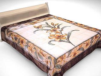 Плед акриловый двухспальный Орхидея (Solaron)