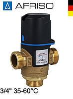 """Клапан 3/4"""" Afriso ATM343 35-60°C защита от ожогов для ГВС термостатический смесительный термосмесительный"""