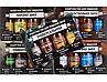 """Набор ружейных масел Глухарь """"Нарезное оружие"""" ( масло универсальное, омеднение, консервация, обезжириватель), фото 3"""