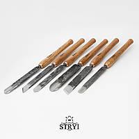 Набор токарных резцов по дереву STRYI, 6 инструментов