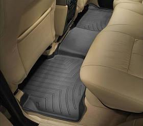 Килими гумові WeatherTech Range Rover Discovery 2004-2009 задні чорні