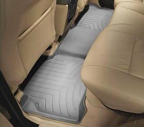 Килими гумові WeatherTech Range Rover Discovery 2004-2009 задні сірі