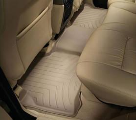 Килими гумові WeatherTech Range Rover Discovery 2004-2009 задні бежеві