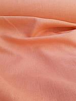 "Льняная костюмная ткань ""Абрикосовая"", фото 1"