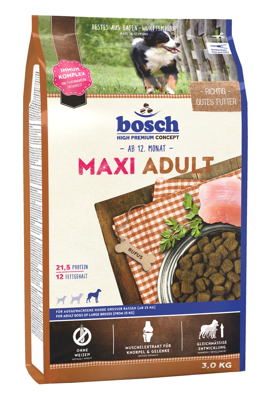 Bosch Maxi Adult сухий корм для собак великих порід 3 кг