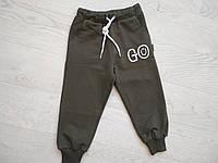Спортивные штаны для мальчика Хаки р. 86 (47 см)