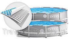Каркасний басейн Intex 26718 Prism Frame Pool (366*122 см) з фільтром-насосом ,сходи 3 шару, фото 3