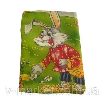 """""""Заяц"""" полуторное постельное белье с детским рисунком, Тирасполь, Tirotex, 100% хлопок"""