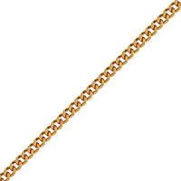 Мужская цепочка ЦП102 Панцирная5,5 крупн, Красное золото, Размер 50