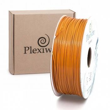 Пластик в котушці ABS 1,75 мм 1кг/400м Plexiwire коричневий, фото 2