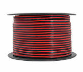 Кабель акустический LEXTON 2x1,5 CCA крас./чорн.100м